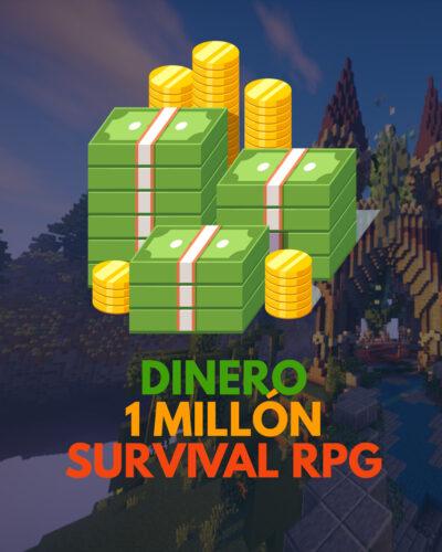 1 millón de dinero para SURVIVAL RPG