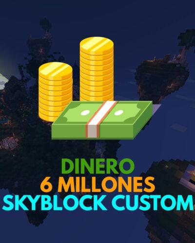 Dinero para SkyBlock Custom